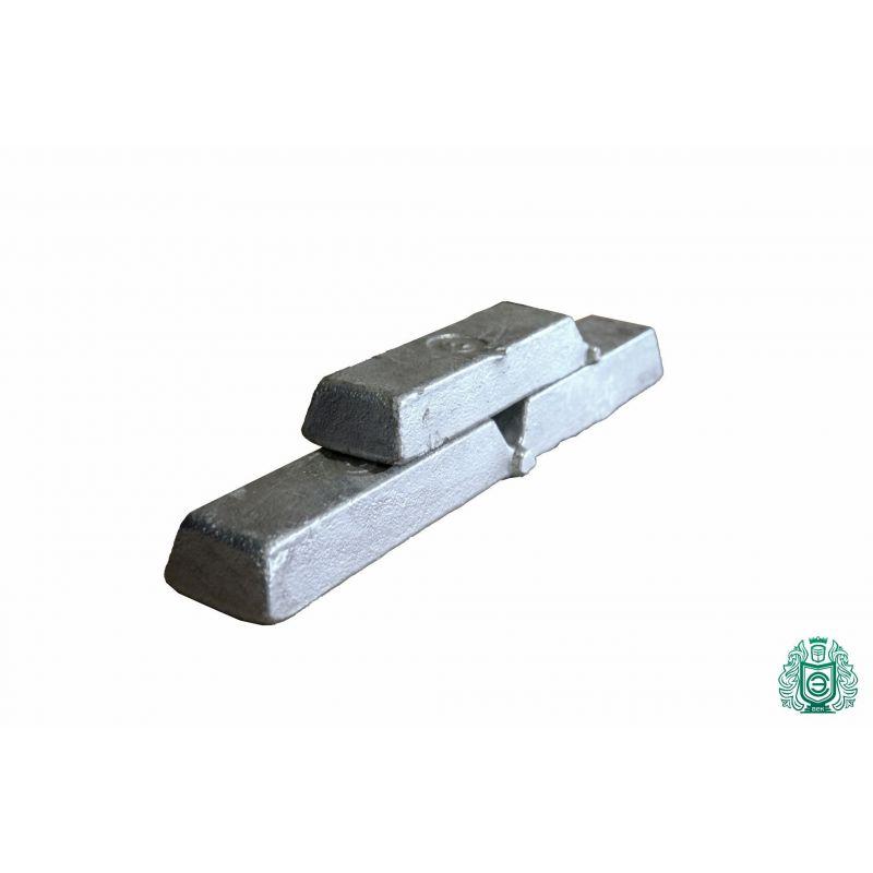 Алуминиеви пръти 100gr-5.0kg 99.9% AlMg1 отливани алуминиеви