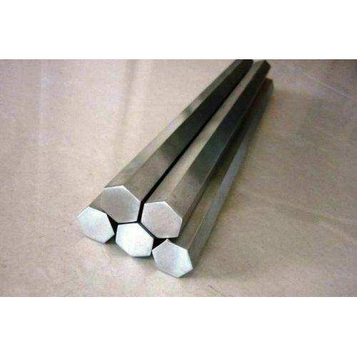 Шестоъгълник от неръждаема стомана SW 18mm-60mm 1.4305 шестоъгълник VA V2A 303 шестоъгълник, неръждаема стомана