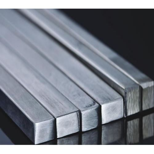 Stainless steel square bar solid square bar profile bar V2A, stainless steel
