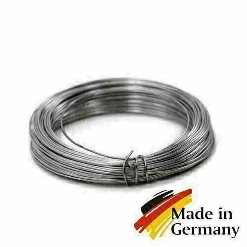 Fjærståltråd 0,1-10mm fjærtråd 1.4310 rustfritt stål 301 rustfast 1-200 meter, rustfritt stål