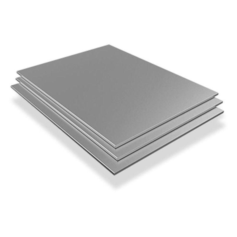 Лист от неръждаема стомана 2,5 мм-3 мм V2A 1.4301 плочи листове, нарязани 100 мм на 1000 мм, неръждаема стомана