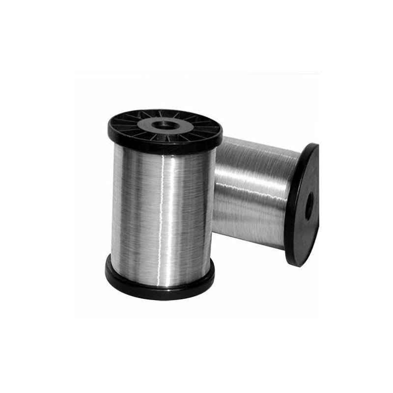 Титанова тел степен 2 Ø0.5-8mm нагревателна жица 3.7035 A5.16 Титанова тел 1-50 метра, титан