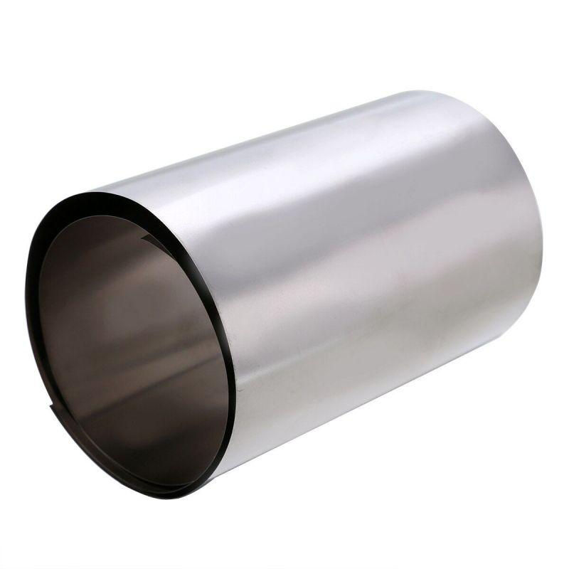 Tykkelse av titanbånd 0,1-0,5 mm titan 3,7025 bredde 100 mm bånd 0,1 meter til 50 meter, titan
