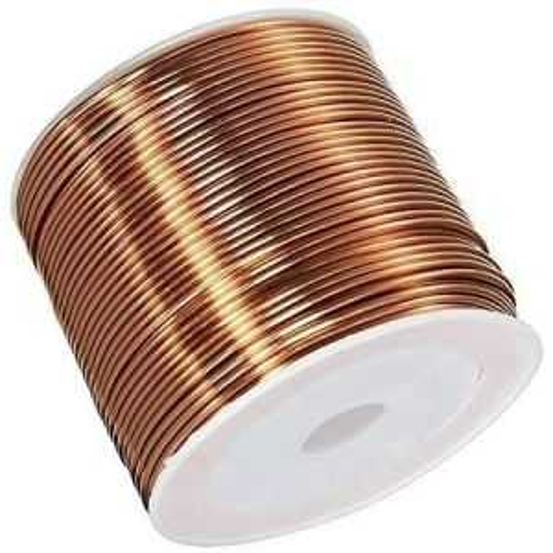 Kobbertråd Ø0.05-2.8mm emaljert tråd Cu 99.9 wnr 2.0090 håndverkstråd 2-750 meter, kobber