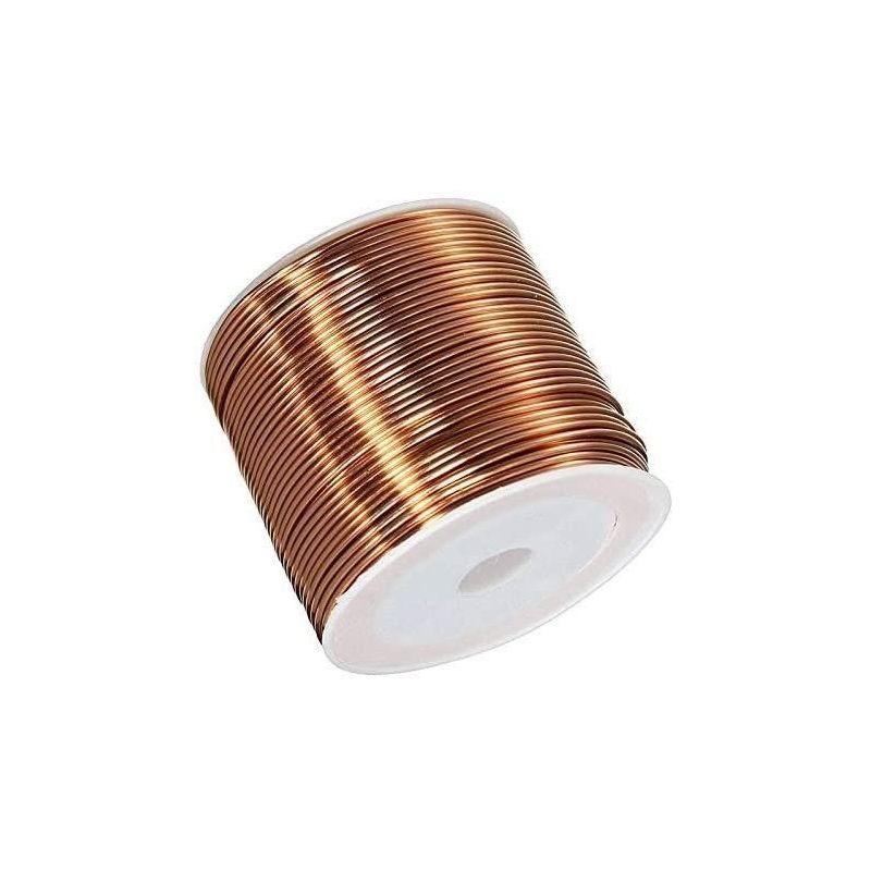 Медна жица Ø0.05-2.8mm емайлирана тел Cu 99.9 wnr 2.0090 занаятчийска тел 2-750 метра, мед