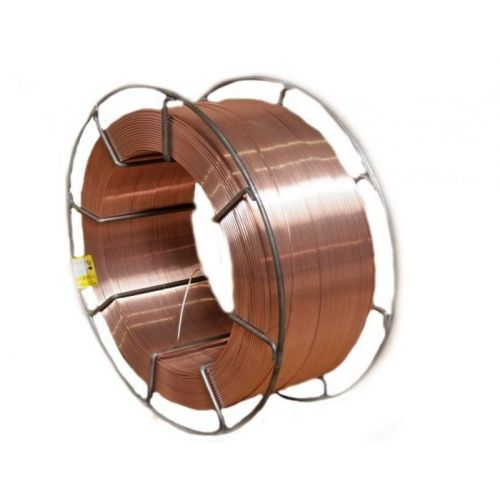 0.5-25кг заваръчна тел стоманена екранираща газ Ø 0,6-5мм мат.