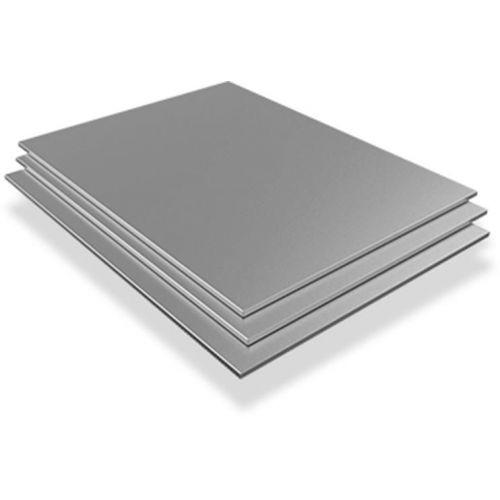 Rustfritt stålplate 4mm-6mm 316L Wnr. 1.4404 ark ark kappet 100 mm til 1000 mm