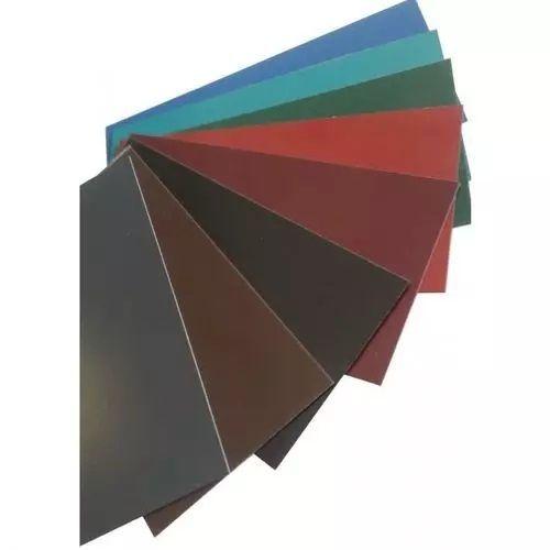 Stål flatstang 0,5 mm fargestrimler metallplater kuttet til størrelse 0,5-1 meter