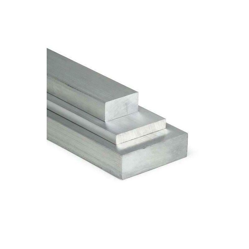 Flat aluminiumsstang 30x2mm-5x12mm 0,5-2 meter striper av metallplater kuttet i størrelse