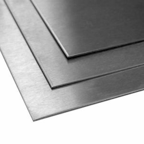 Titanplate klasse 5 1 mm plate 3.7165 Titanplate kuttet 100 mm til 2000 mm