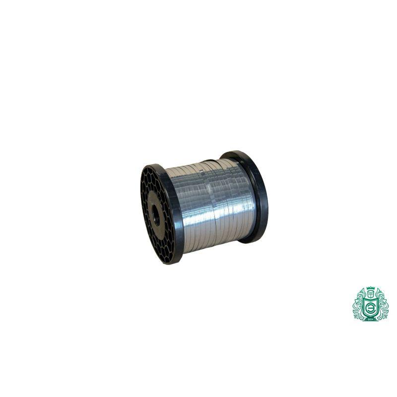 Лента от неръждаема стомана ламарина плоска тел 0,3x0,6 мм V2A 1.4301 304 лента за нагряване на лента, неръждаема стомана