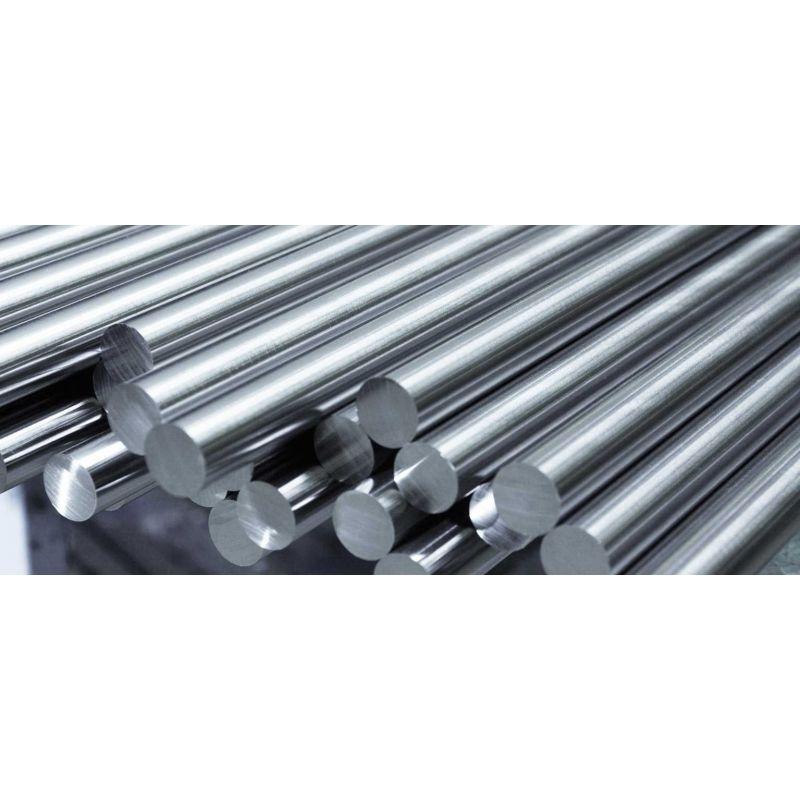 Молибден кръгла пръчка 99,9% от Ø 2 мм до Ø 120 мм метален