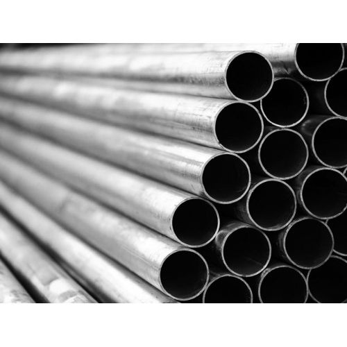 Round pipe, steel pipe, threaded pipe, railing pipe dia 6x1mm to 65x2mm, pipe