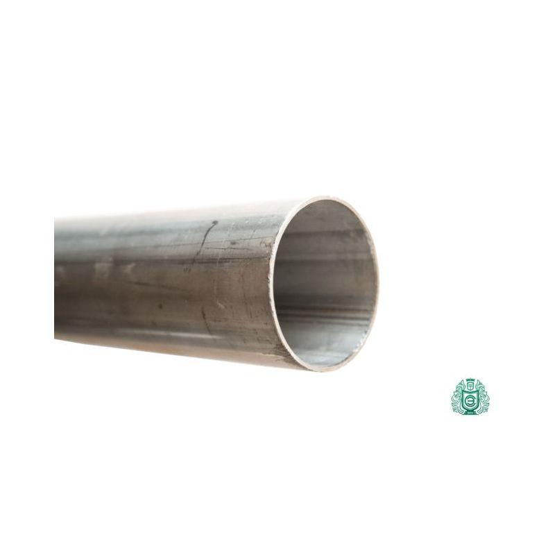 Парапет от неръждаема стомана 1.4301 28x1mm кръгла тръба V2A ауспух Aisi 304 метална конструкция 0,25-2 метра, неръждаема