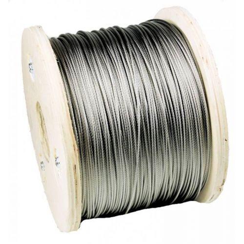 1-200 метра телено въже от неръждаема стомана Ø3mm въже от