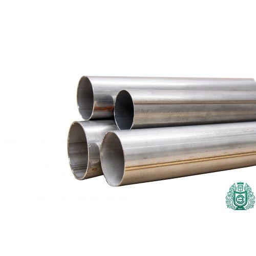 Тръба от неръждаема стомана Ø 50x1.2-65x1mm 1.4828 кръгла тръба 309 V2A отработена парапет 0.25-2 метра, неръждаема стомана