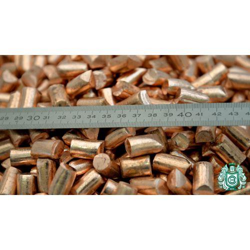 Медни гранули 99,9% елемент 29 медни парчета отливка от чист
